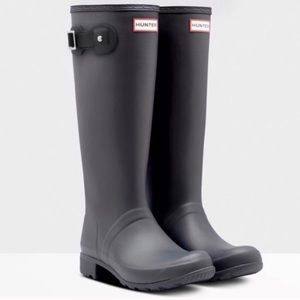 Hunter Original Tour Foldable Tall Rain Boots